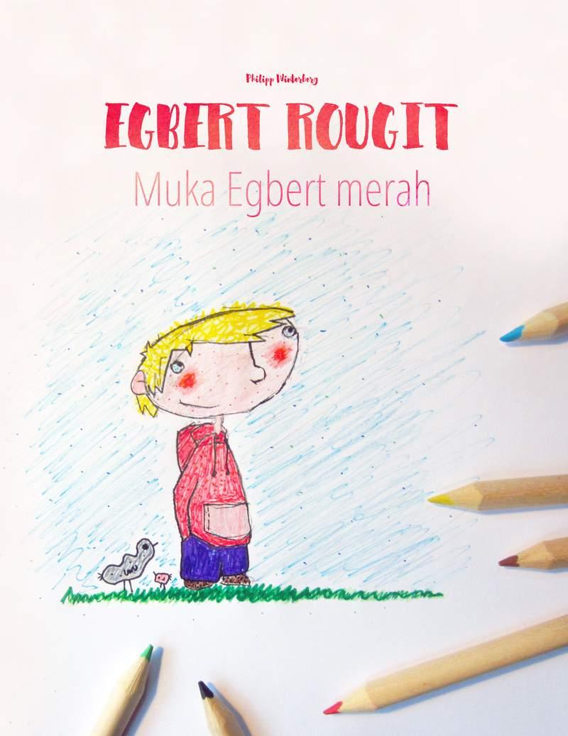 Muka Egbert merah