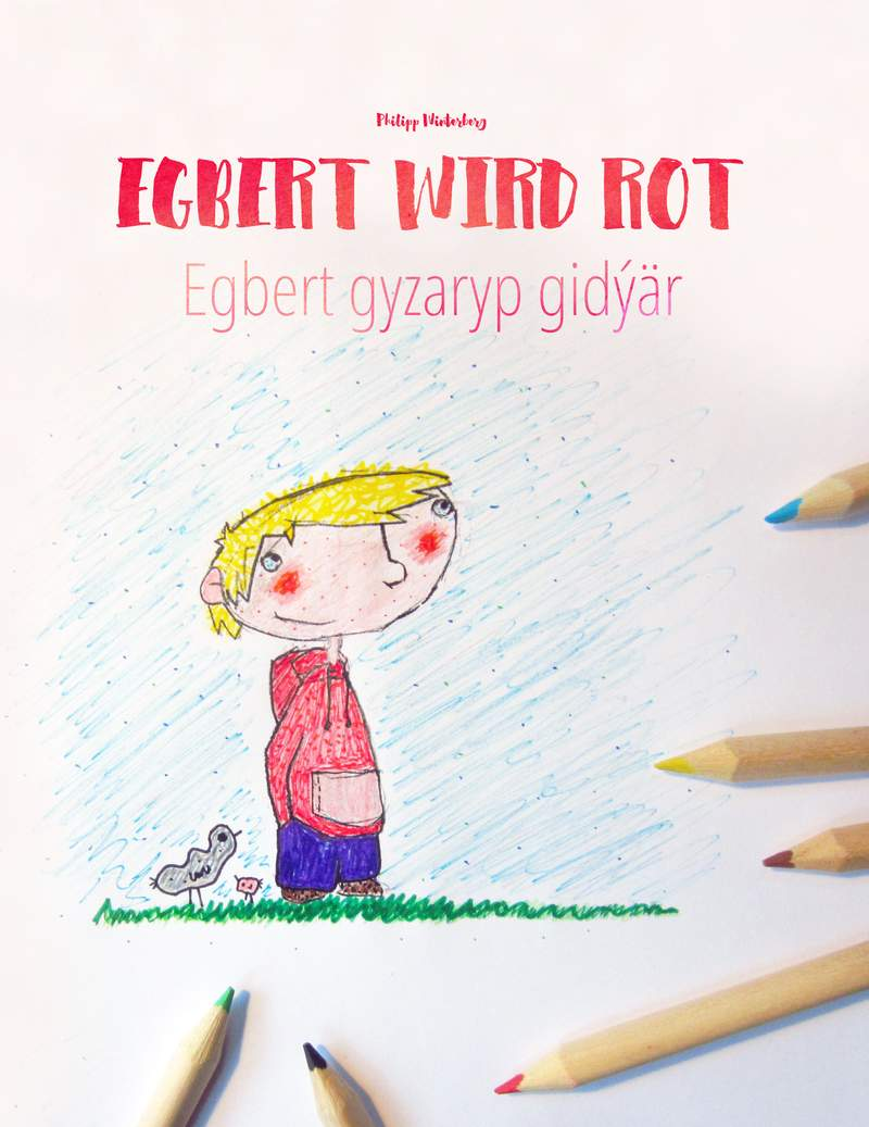 Egbert gyzaryp gidýär
